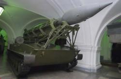 Самоходная пусковая установка 2П2 ракетного комплекса 2К1 «Марс»