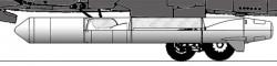Ракета 79М6 комплекса 30П6 «Контакт»