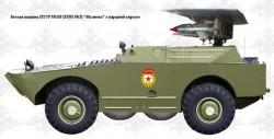 Боевая машина 9П110 с ПТРК 9М14 «Малютка»