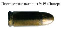 Пистолетный патрон 9х19 «Luger»