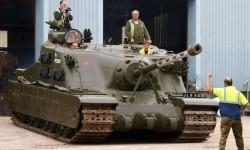 Опытный штурмовой танк A39 «Tortoise»