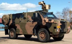 Бронеавтомобиль ADI Bushmaster