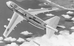 Проект размещения МБР MX на самолете Boeing MC747