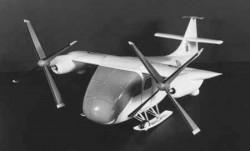 Проект разведывательно-ударного СВВП Canadair CL-74