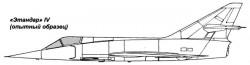 Палубный штурмовик Etendard IVM