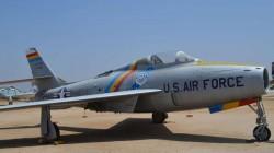 Истребитель Republic F-84F Thunderstreak