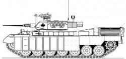 Тяжелая разведывательная машина Leopard C2A2-HR