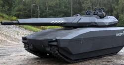 Опытный легкий танк PL-01