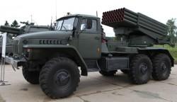 Реактивная система залпового огня БМ-21 «Град»