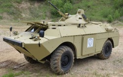 Бронированная разведывательная машина БРДМ-2МБ «Бекас»