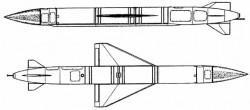 Опытная крылатая ракета К-12БС