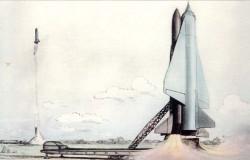 Проект межконтинентальной крылатой ракеты П-100 «Буревестник»