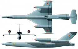 Проект дальнего морского бомбардировщика-разведчика СД МБР