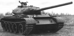 Опытный огнеметный танк Т-54