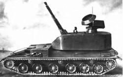 Опытная зенитная самоходная установка ЗСУ-37-2