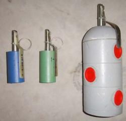 Ручные светозвуковые гранаты «Факел» и «Факел-салон»